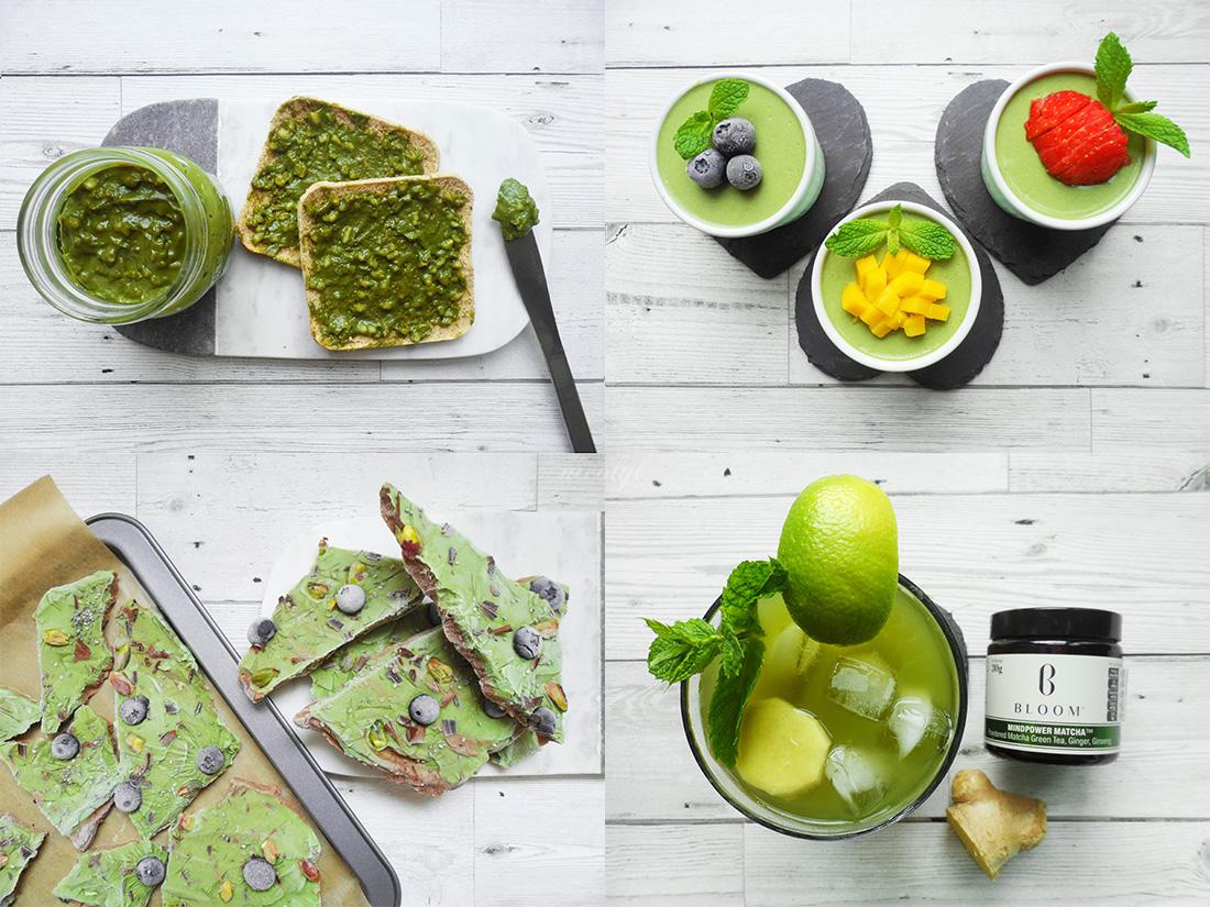 matcha bloom tea recipes absolute mindpower