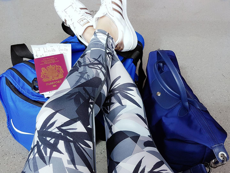 Sweaty Betty abroad travelling
