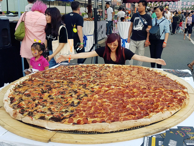 beijing pizza festival