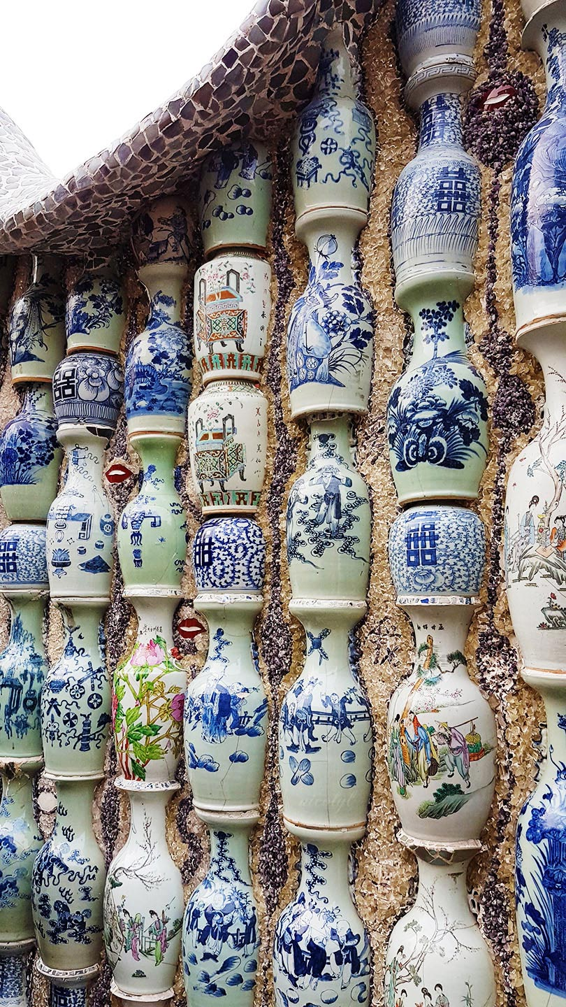 Tianjin porcelain china house