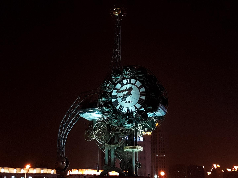 Tianjin zodiac century clock
