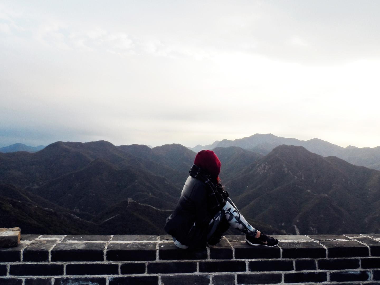Camping on the Great Wall of China nicol yuk lui Wong yukluistyle nicolyl
