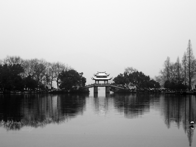 hangzhou west lake bridge