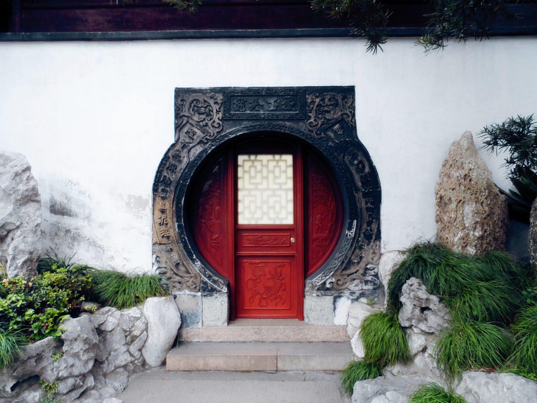 Shanghai yuyuan yu garden