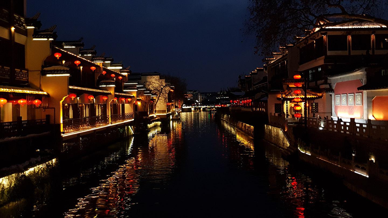 Nanjing fuzimao Qin Huai River