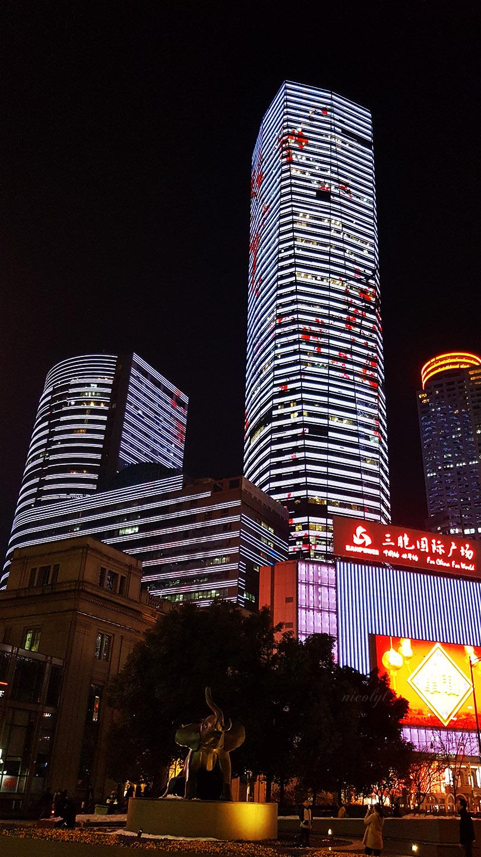 Nanjing night architecture