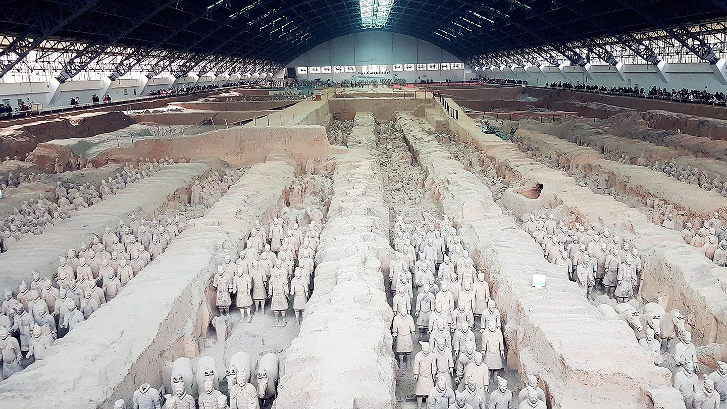 terracotta army warriors xian