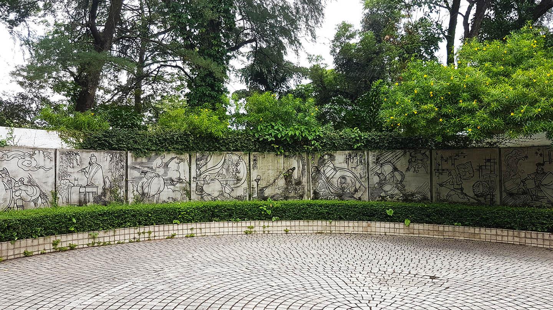 Guangzhou Guangdong yuexiu park