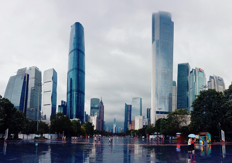 Guangzhou Guangdong huacheng guangchang square