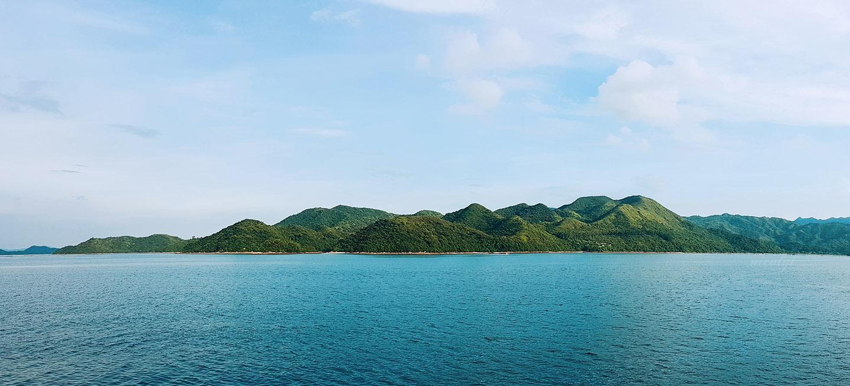 Shenzhen yantian coast Hong Kong sha tau Kok