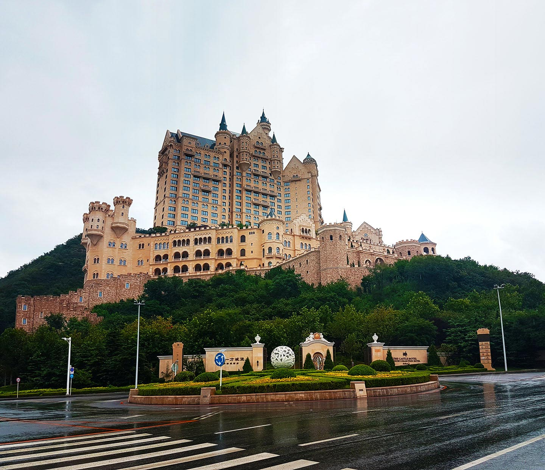 dalian liaoning castle hotel binhai road lu