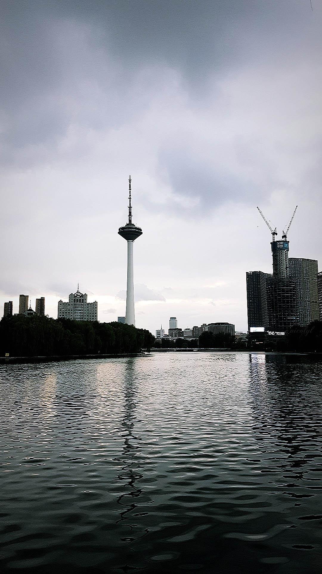 shenyang liaoning youth park sunset tv tower 黄郁蕾 nicol yuk lui Wong yukluistyle Huang yu lei nicolyl