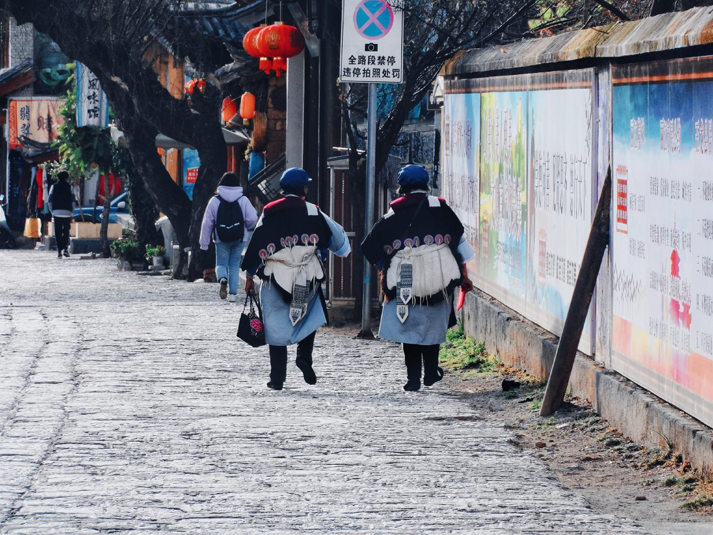 China Naxi ethnic minority baisha village Lijiang Yunnan