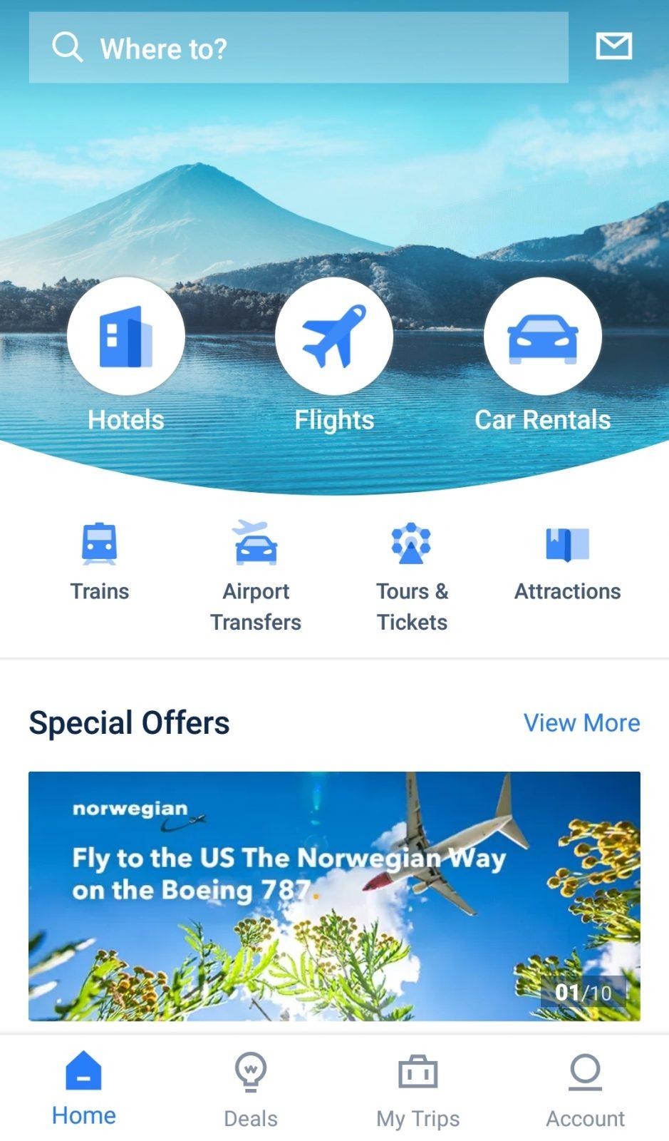 Trip.com english app android ios ctrip 携程英语版 按掉 苹果
